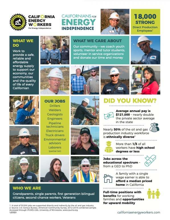 Who are California's Energy Workers?