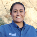 Photo of CRC employee Maria Castro.